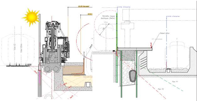 Barettes/ micropieux / micropiles / railway