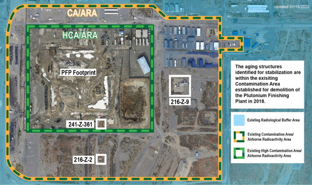 Stabilisation aging underground structures at the nuclear site / grouting