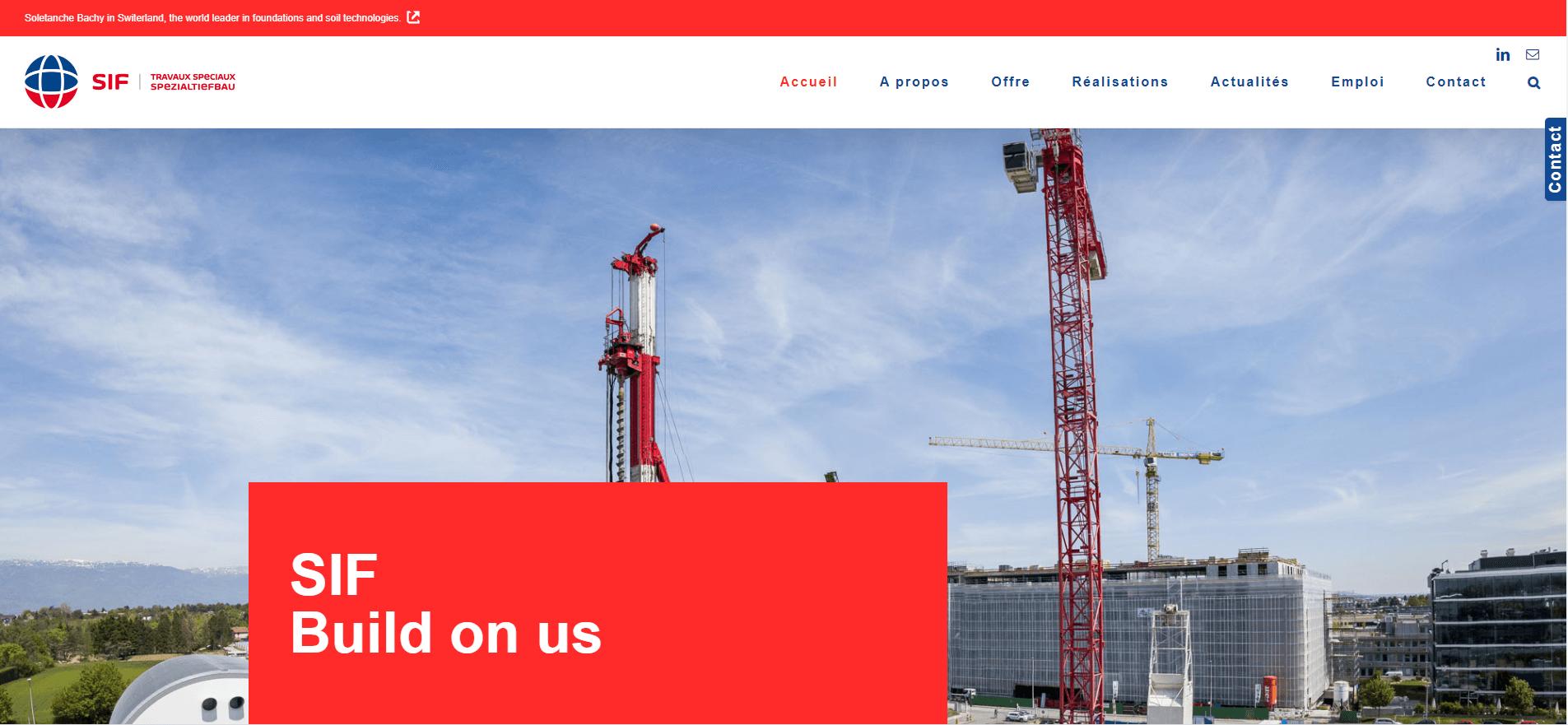 SIF / Suisse / fondations et technologies du sol