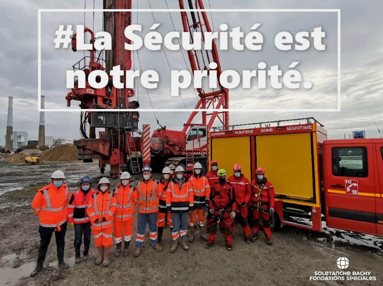 Sécurité/ Prévention/ Soletanche Bachy Fondations Spéciales/ QSE