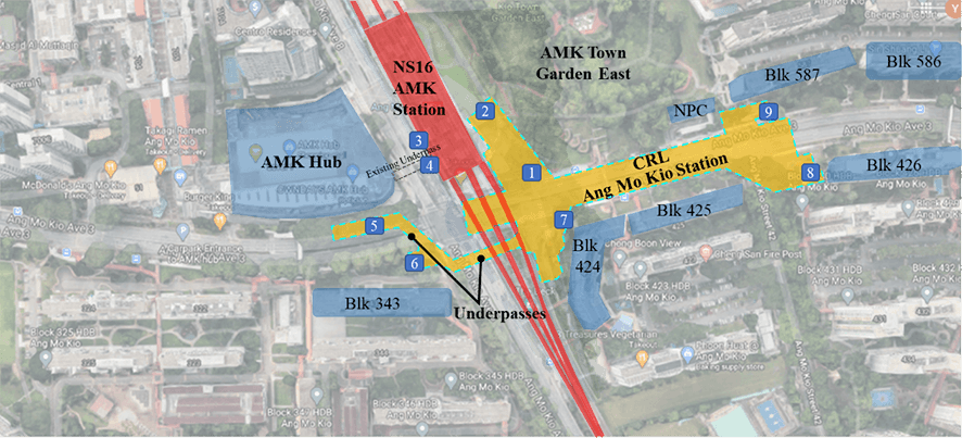 LTA / MRT/ metro and tunnels/ TBM